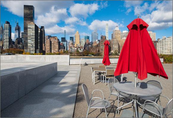 Lo skyline di Manhattan visto da Roosevelt Island - © Massimo Vespignani