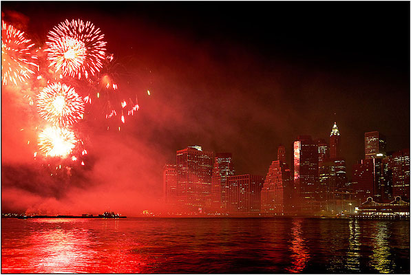 New York City: spettacolo pirotecnico - © Massimo Vespignani