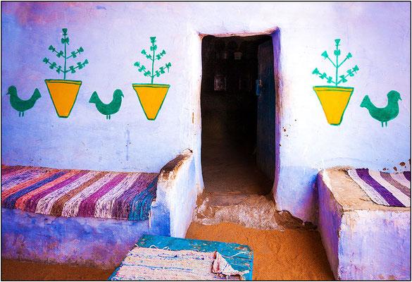 Assuan: villaggio nubiano - © Massimo Vespignani