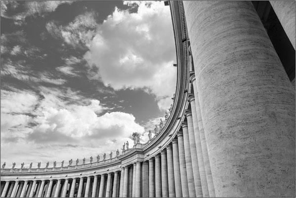 Roma: piazza San Pietro - © Massimo Vespignani