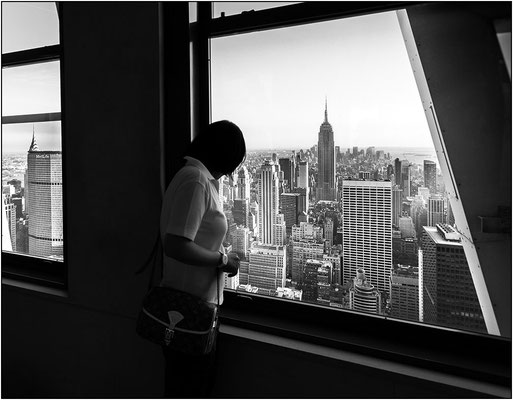 New York City: osservatorio Top of the Rock al Rockefeller Center - © Massimo Vespignani