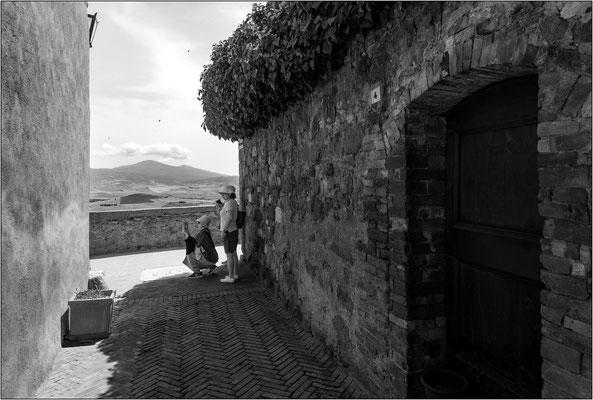 Pienza: via dell'Amore - © Massimo Vespignani