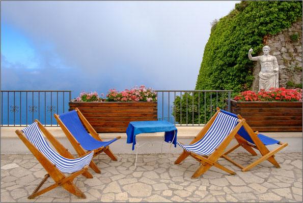 Isola di Capri: terrazza sul monte Solaro - © Massimo Vespignani