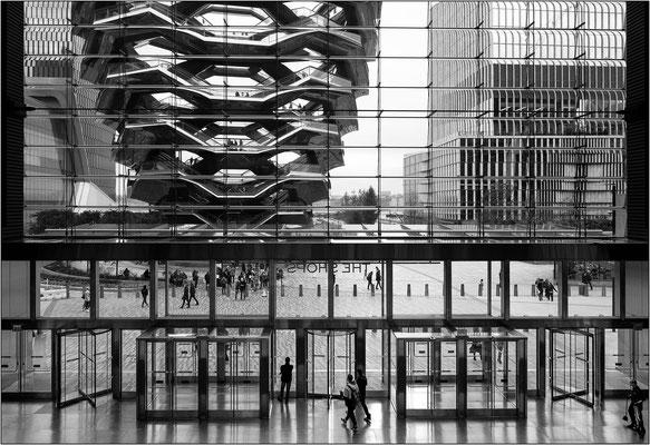 Il Vessel e gli edifici del nuovo quartiere Hudson Yards - © Massimo Vespignani