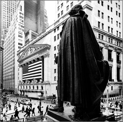 New York City: la Borsa (New York Stock Exchange, NYSE) - © Massimo Vespignani
