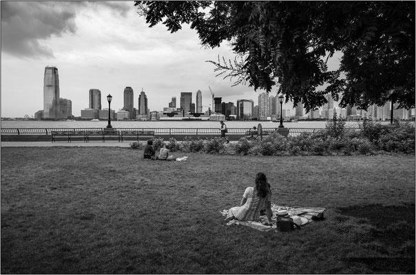 New York City: skyline di Jersey City - © Massimo Vespignani