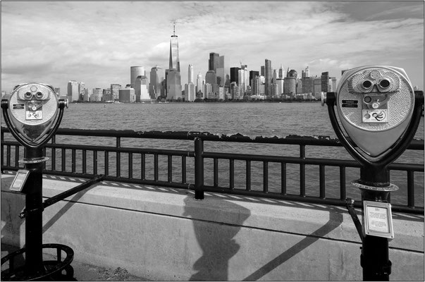 Jersey City: veduta di New York dal Liberty State Park - © Massimo Vespignani