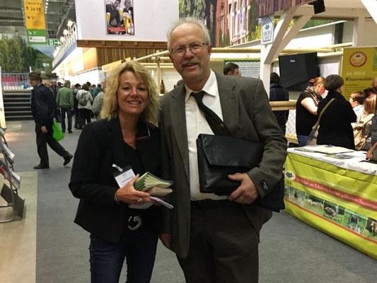 Der VDL und Landesvorsitzende Alfons Gimber mit seiner Geschäftsführerin Frau Anette Wohlfarth