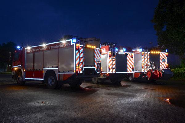 Fahrzeugaufnahme für die Feuerwehr Raunheim