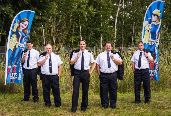 Gruppenaufnahme des Vorstands der Kreisjugenfeuerwehr Groß-Gerau
