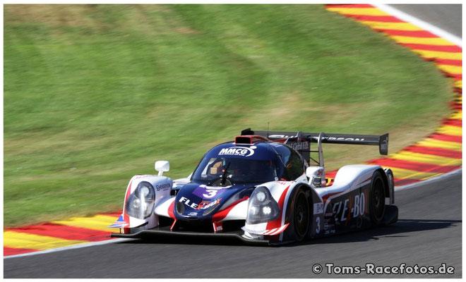 P3 United Autosports > PATTERSON / BELL / BOYD < Ligier JS P3 - Nissan