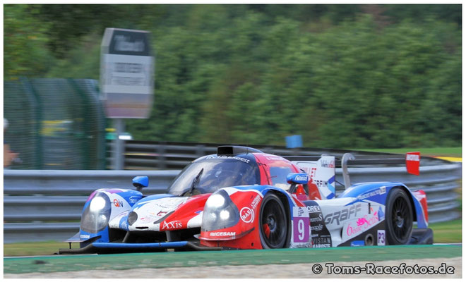 P1 Graff > TROUILLET / PETIT / GUIBBERT < Ligier JS P3 - Nissan