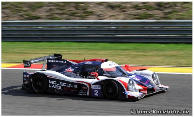 P2 United Autosports > BRUNDLE / GUASCH / ENGLAND < Ligier JS P3 - Nissan