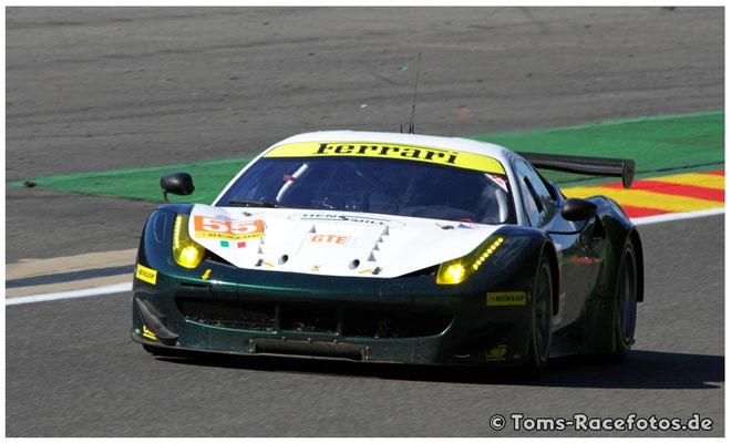 P3 AF Corse > CAMERON / GRIFFIN / SCOTT < Ferrari F458 Italia