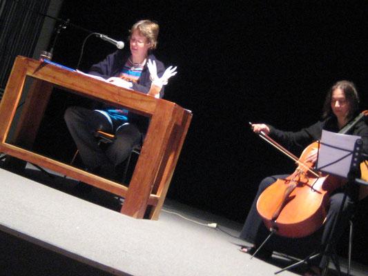 Kaminzimmer, mit Monika Herrmann (Cello), 2013