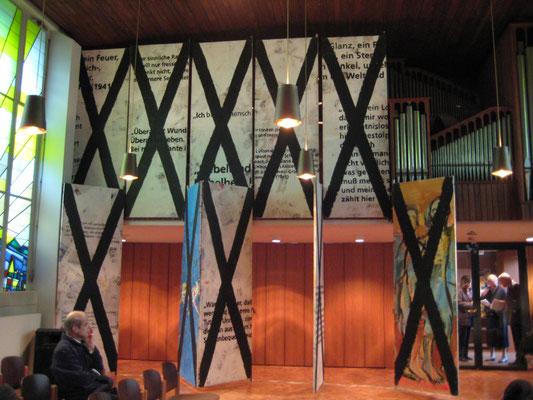 X, Ausstellung zur Progromnacht, 2006