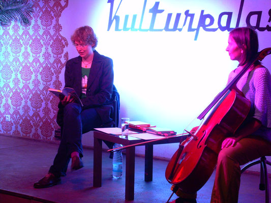 Kulturpalast, mit Monika Herrmann, 2015