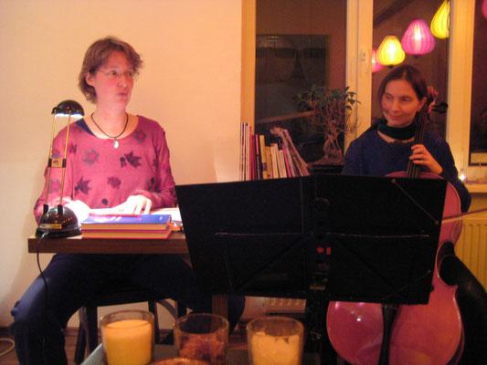 Teehaus Emma, mit Monika Herrmann, 2012