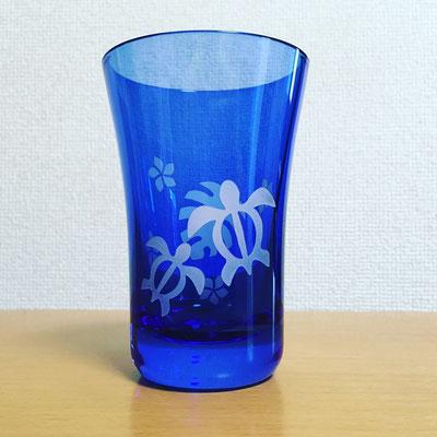 被せグラス ハワイアン2 ブルー