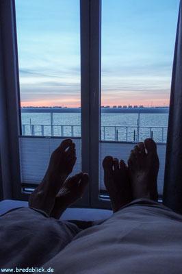 Schlafzimmer 1, Sonnenaufgang genießen