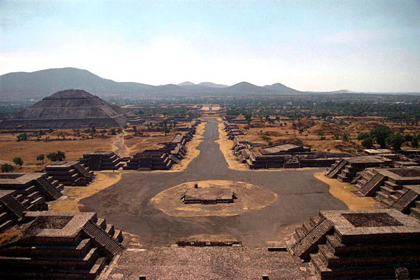 Teotihuacan, from the Moon pyramid