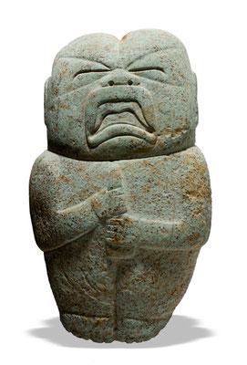 El bebé, La Merced, Veracruz, 1000-800 a.,40x23x8 cm, Centro INAH Veracruz