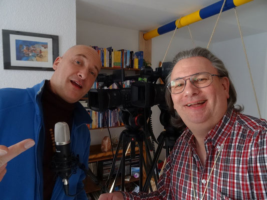 with Andreas Klein from Delphin-TV