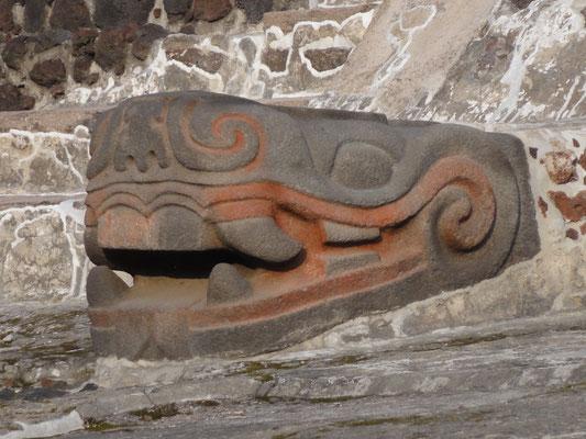 the ancient olmec God here with the Aztecs: Quetzalcoatl