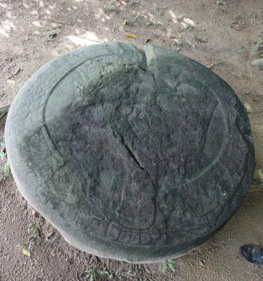 el recien encontrado disco solar de San Lorenzo (diciembre 2012)