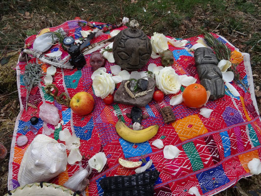 last Retreat in Switzerland: shamanic formation (Neuzeitschamane), first part: ROOTS (Wurzeln)
