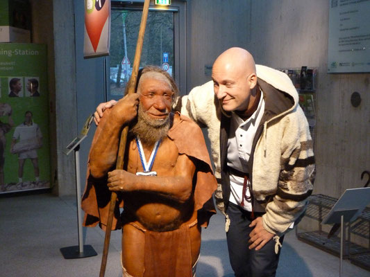 ... wonderful Neandertal Museum!