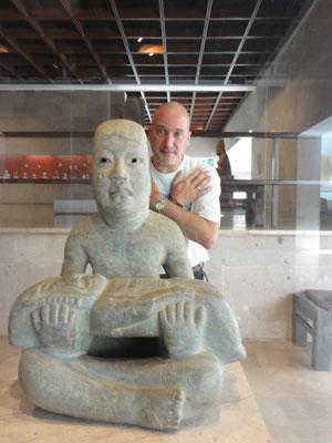 """mi favorito: el """"Señor de Las Limas"""", 900-400 a.C., Veracruz, Museo de Antropología Xalapa"""