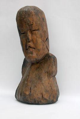 figura de madera del Manatí, 1200-900 a.C. (50x20 cm)...