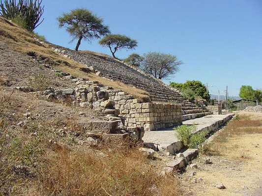 San José Mogote, the oldest settlemente in the zone of Oaxaca, pure magic!