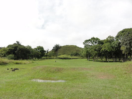 la primera pirámide de Mesoamerica, hecho de tierra, La Venta