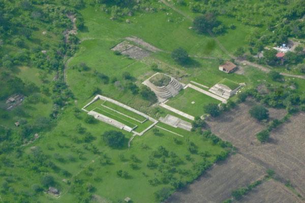 Chalcatzingo - un santuario olmeca cerca de Cuautla, Morelos