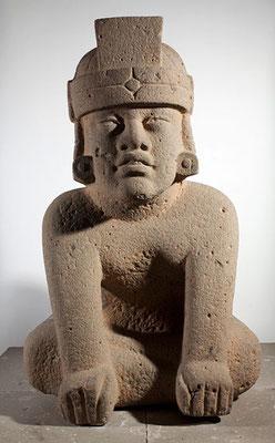 Sayula de Alemán, Cruz del Milagro, Veracruz, 1200-900 a.C. (basalto 125x84x100 cm), Museo de Antropología Xalapa