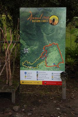 Wanderung am Vulkan Arenal