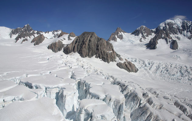 Mit dem Heli auf den Fox Gletscher