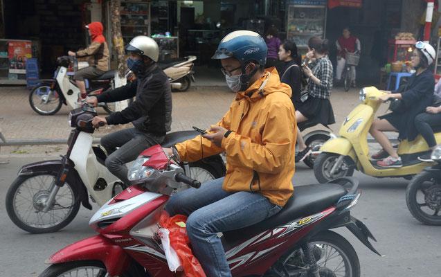 Stadtverkehr in Hanoi