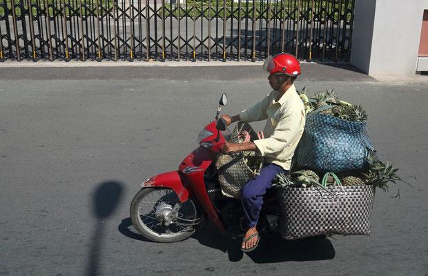Der Ananas Händler