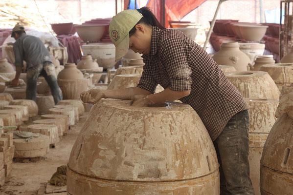 Besichtigung einer Porzellanmanufaktur