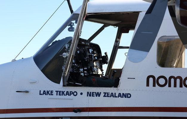Rundflug am Mount Cook