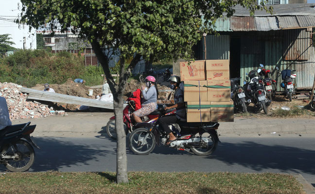 Auf Saigons Strassen