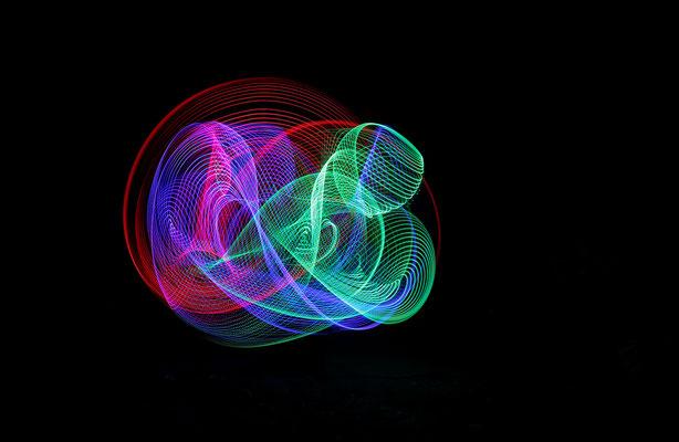 Gemeinsames Lightpainting
