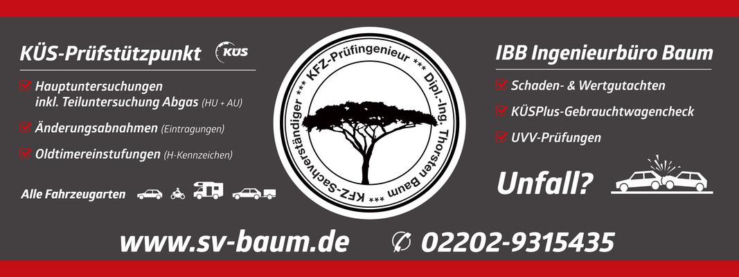 amtlich anerkannter Prüfstützpunkt der KÜS in Bergisch Gladbach