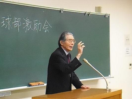 最年長(95歳)大道信敏さん(昭和12年入)