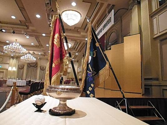天皇杯とリーグ戦、大学選手権2本の優勝旗