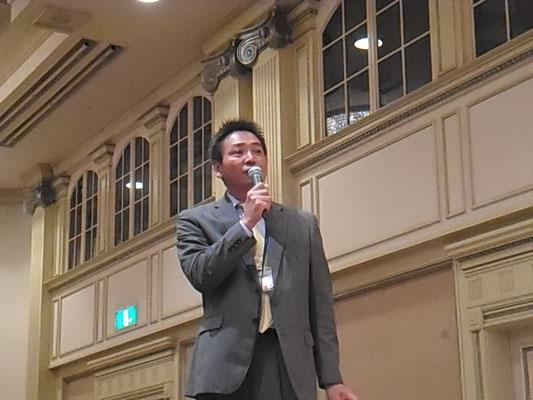 司会は五木正暁さん(平成3年卒)