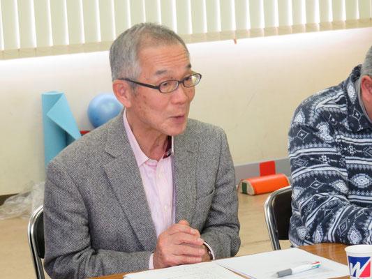 岡村先輩理事報告